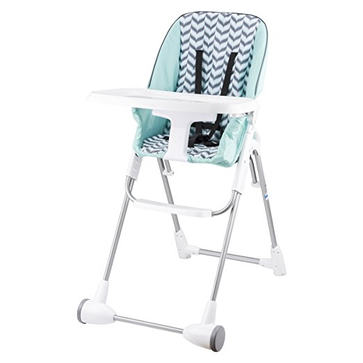 Evenflo Symmetry High Chair, Spearmint Spree