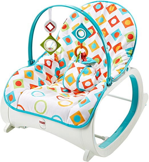 Fisher-Price Infant-to-Toddler Rocker, Geo Diamonds 2