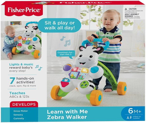 Fisher-Price Learn with Me Zebra Walker5
