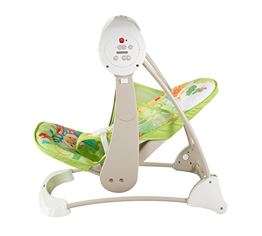Fisher-Price Take-Along Swing and Seat, Rainforest Friends, One size 4