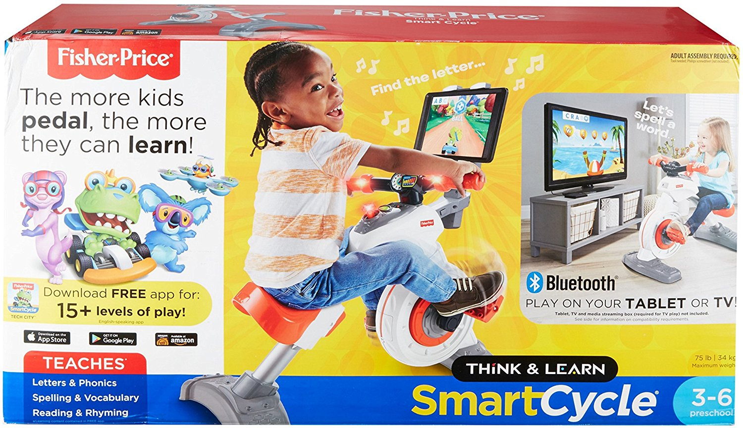 Fisher-Price Think & Learn Smart Cycle6