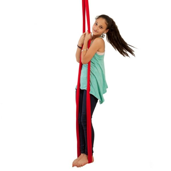 Indoor Swing for Kids by InYard Great for Sensory Integration (Up to 77lbs, Red)3