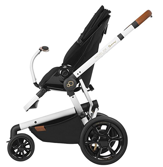 Quinny Rachel Zoe Jet Set Moodd Stroller Travel System with Rachel Zoe Diaper Bag 5