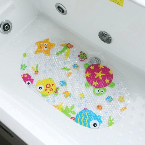 Topsky Baby Non-slip Bath Mat Anti-Bacterial Bathtub Mat6