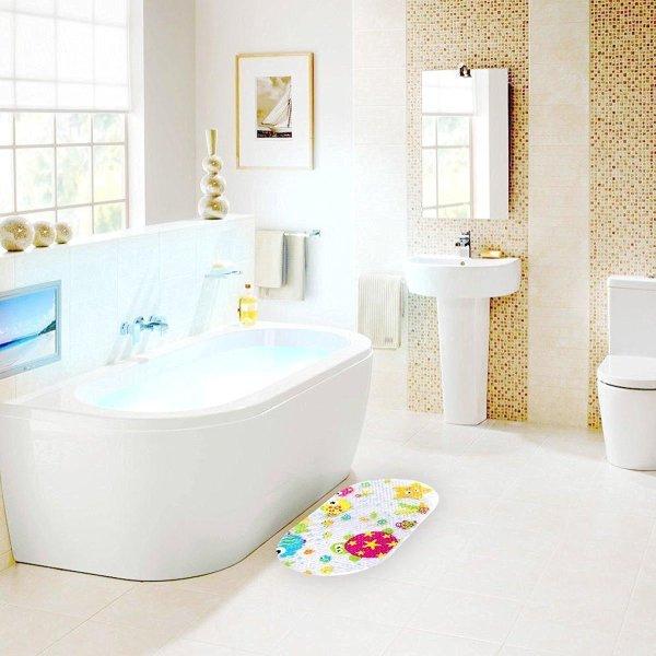Topsky Baby Non-slip Bath Mat Anti-Bacterial Bathtub Mat8