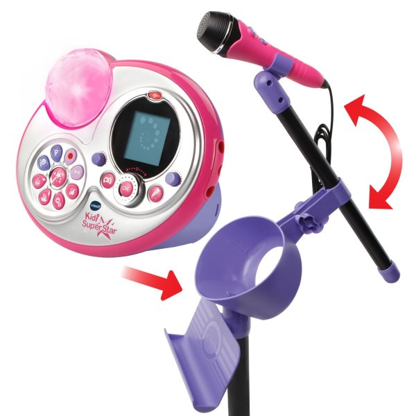 VTech Kidi Super Star Karaoke System with Microphone and Mic Stand – Online Exclusive3