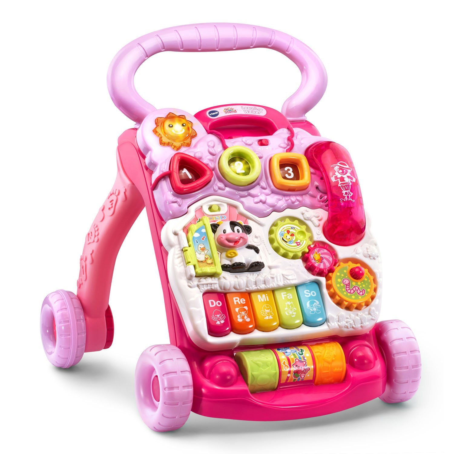 VTech Sit to Stand Walker, Pink2