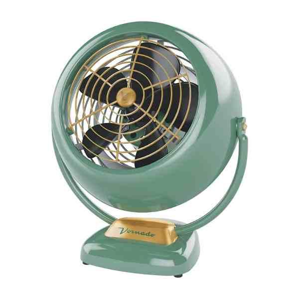Ventilador Vornado VFAN Verde Retro Nostalgia Vintage Vornado Anos 60 70 CR1-0061-17