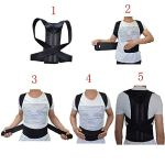 Back support Back Brace Support for Back Neck Shoulder Upper Back Pain Relief Perfect Posture Corrector Strap for Cervical Spine (L) 2