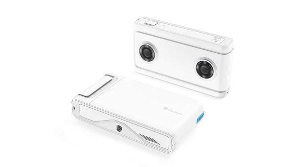 Câmera Mirage da Lenovo com Daydream, Câmera e Foto Pronta para VR, Integração com o YouTube e Google Fotos, Compatibilidade com Smartphone, 2