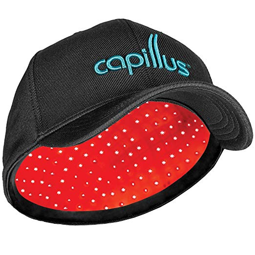 CapillusPro Mobile Laser Therapy Cap for Hair Regrowth – NEW 6 Minute Flexible-Fitting Model – FDA-Cleared for Medical Treatment of Androgenetic Alopecia – Superior Coverage