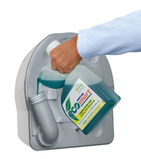 Porta Potti Curve Toalete Portátil para RV6