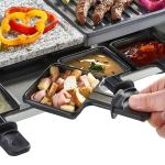 Raclette Party BBQ Grill with Temperature Control Electric Nonstick BBQ Indoor3