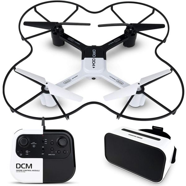 SHARPER IMAGE DRO-004 Lunar Drone with Smartphone Viewing, Virtual Reality Platinum Series, 2.4GHz