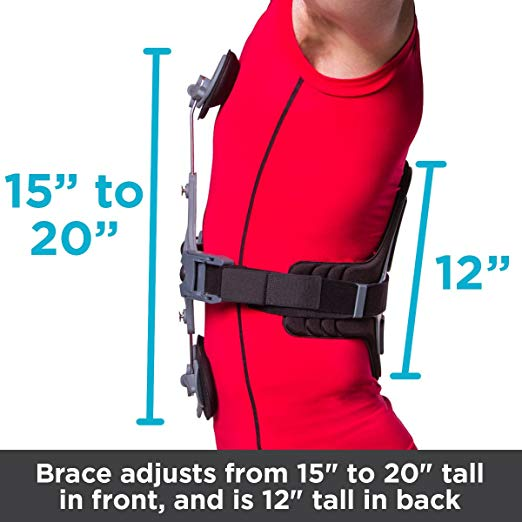 Thoracic Extension Spine Brace for Hyperextension Support, Osteoporosis, Kyphosis & Compression Fractures – Prevents unwanted Spine Flexion (One Size) 4