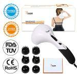VIKTOR JURGEN Handheld Back Massager – Double Head Electric Full Body Massager -6