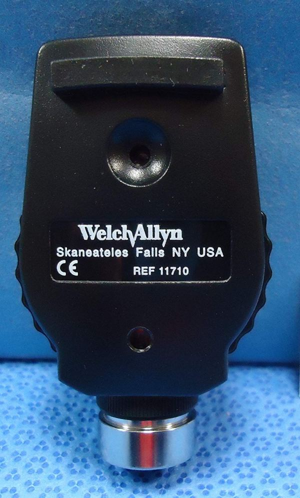 Welch Allyn 97150-M Halogen Hex Diagnostic Set Including Standard Ophthalmoscope,4