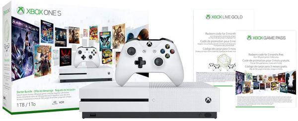 Xbox One S 1TB Console – Starter Bundle by Microsoft2