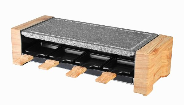 Artestia Electric Raclette Grill with High Density Granite Grill Stone,1600W High Powe3
