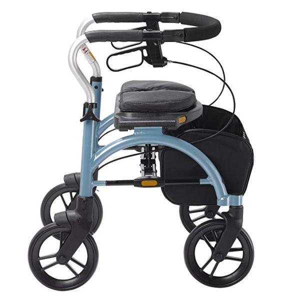 Drive Medical Arc Lite Rollator, Blue 6