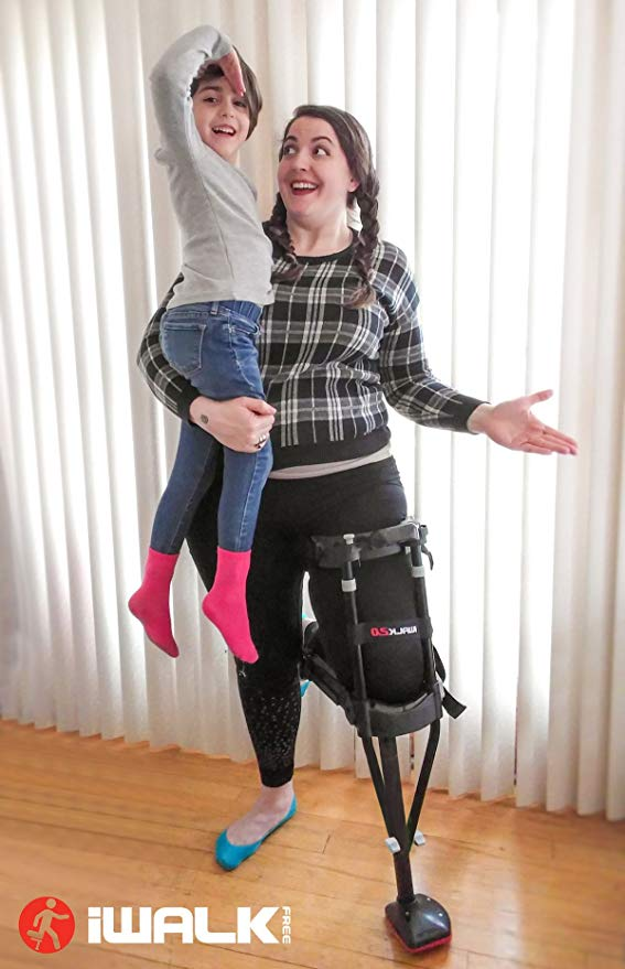 iWALK2.0 Hands Free Knee Crutch – Alternative for Crutches and Knee Scooters – by iWALKFree 4