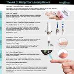 KETO-MOJO Blood Ketone and Glucose Testing Meter Kit, Monitor Your ketogenic Diet, 1 Lancet Device4