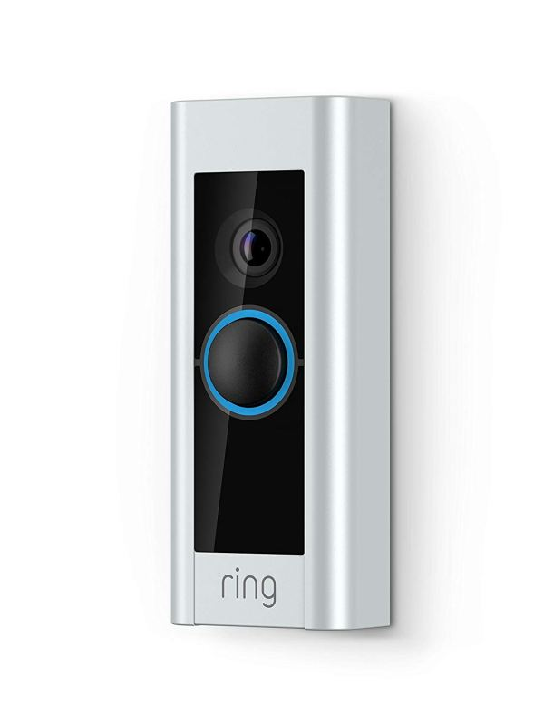 Ring Video Doorbell Pro, Works with Alexa (existing doorbell wiring required)2