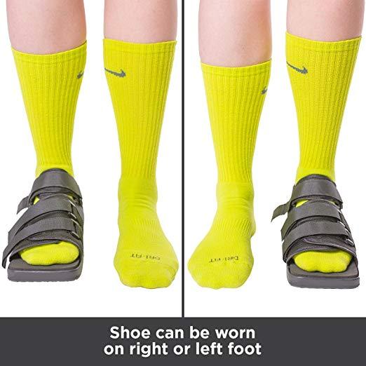 BraceAbility Post-op Shoe for Broken Foot or Toes6