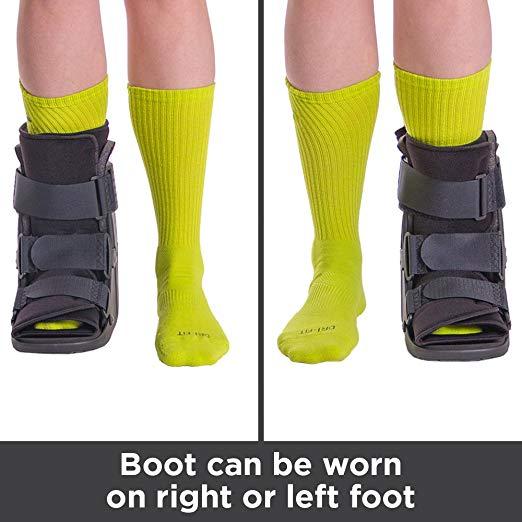 BraceAbility Short Broken Toe Boot5