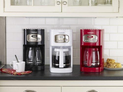 Cuisinart DCC-1100 cafeteira programável de 12 xícaras, branca2
