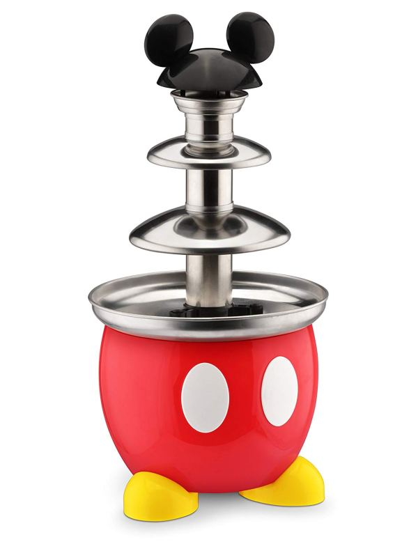 Disney DCM-50 Mickey Mouse Chocolate Fountain, Red2