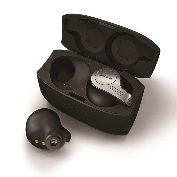 Jabra Elite 65t Alexa Enabled True Wireless Earbuds with Charging Case – Titanium Black2