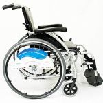 Karman Healthcare S-115 Ergonomic Ultra Lightweight Manual Wheelchair, Rose Red, 18 Inches Seat Width5