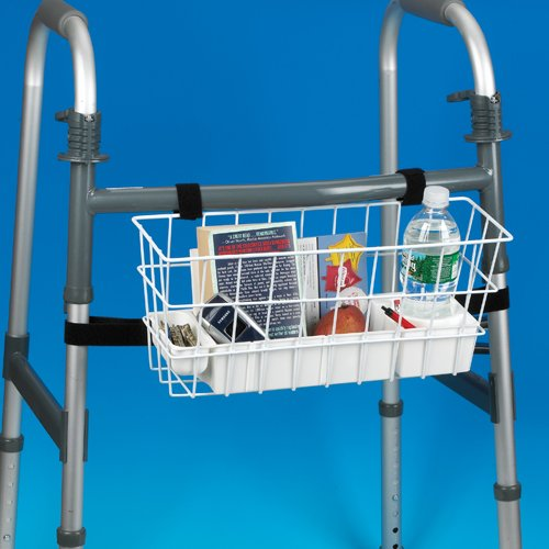 Maddak Economy Walker Basket with Hook and Loop Fasteners (703192000) 2