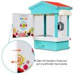 Mini Máquina de pegar brinquedos, bichinhos, doce com Exposição de luz multi-cor, música, moedas5