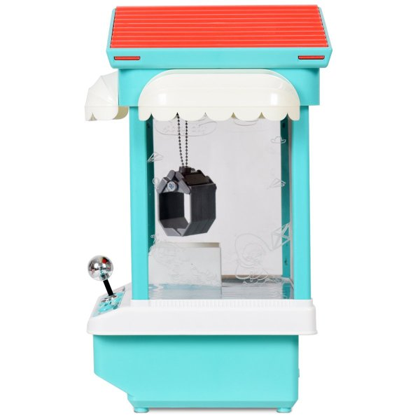 Mini Máquina de pegar brinquedos, bichinhos, doce com Exposição de luz multi-cor, música, moedas9