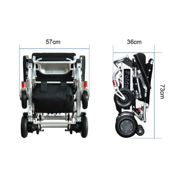 PW-999UL (Lightest Power Folding Wheelchair)11