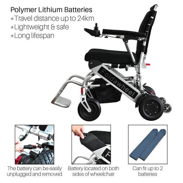 PW-999UL (Lightest Power Folding Wheelchair)3