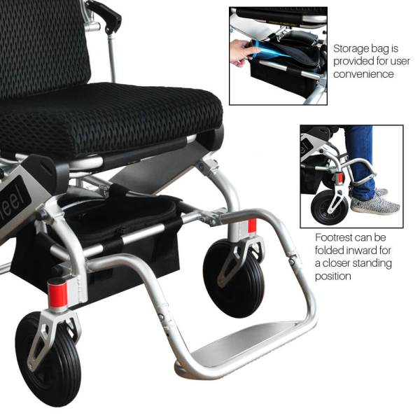 PW-999UL (Lightest Power Folding Wheelchair)4