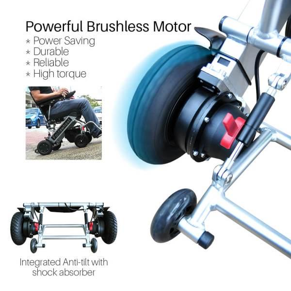 PW-999UL (Lightest Power Folding Wheelchair)5