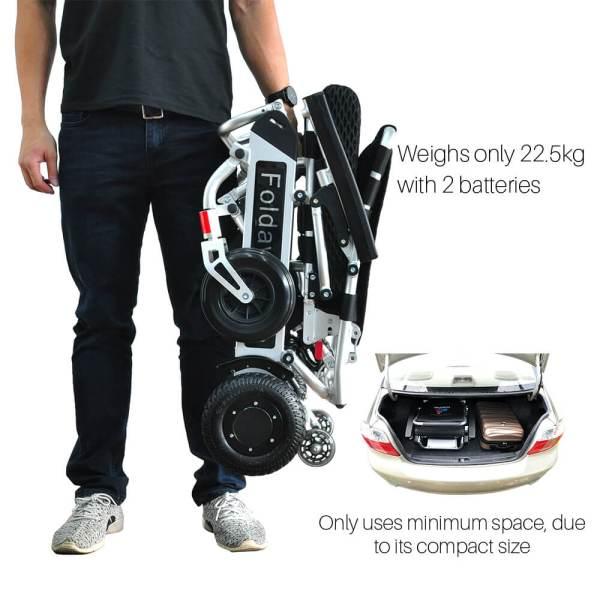PW-999UL (Lightest Power Folding Wheelchair)8
