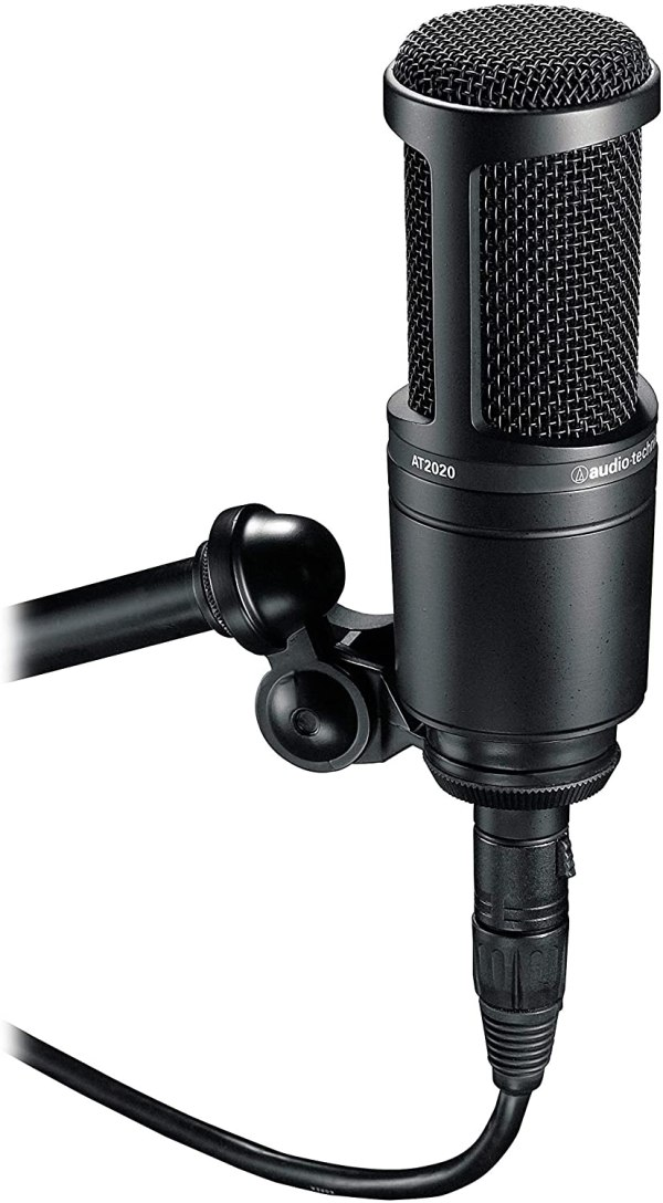Audio Technica At 2020 Microfone Pro Condensador At20202