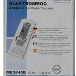 ME 3840B – medidor eletromagnético profissional Semi campo por Low Frequency3
