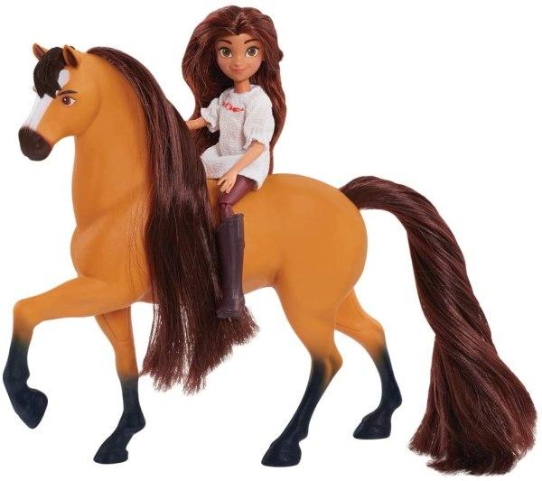 Boneca E Cavalo Easy Spirit Dreamworks- Lucky e Spirit 3
