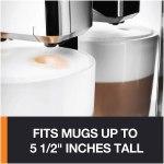 Máquina automática de café e cappuccino KRUPS EA89 3