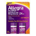 Allegra Não sonolento – 110 Comprimidos
