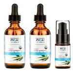Conjunto de hidratante facial California Pure Naturals Organic