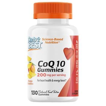Doctor's Best CoQ10 200mg.- 130 Gomas