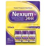 Redutor de ácido Nexium 24HR 20 mg. – 42 cápsulas
