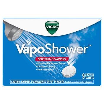 Vicks VapoShower, 9 tabletes de banho
